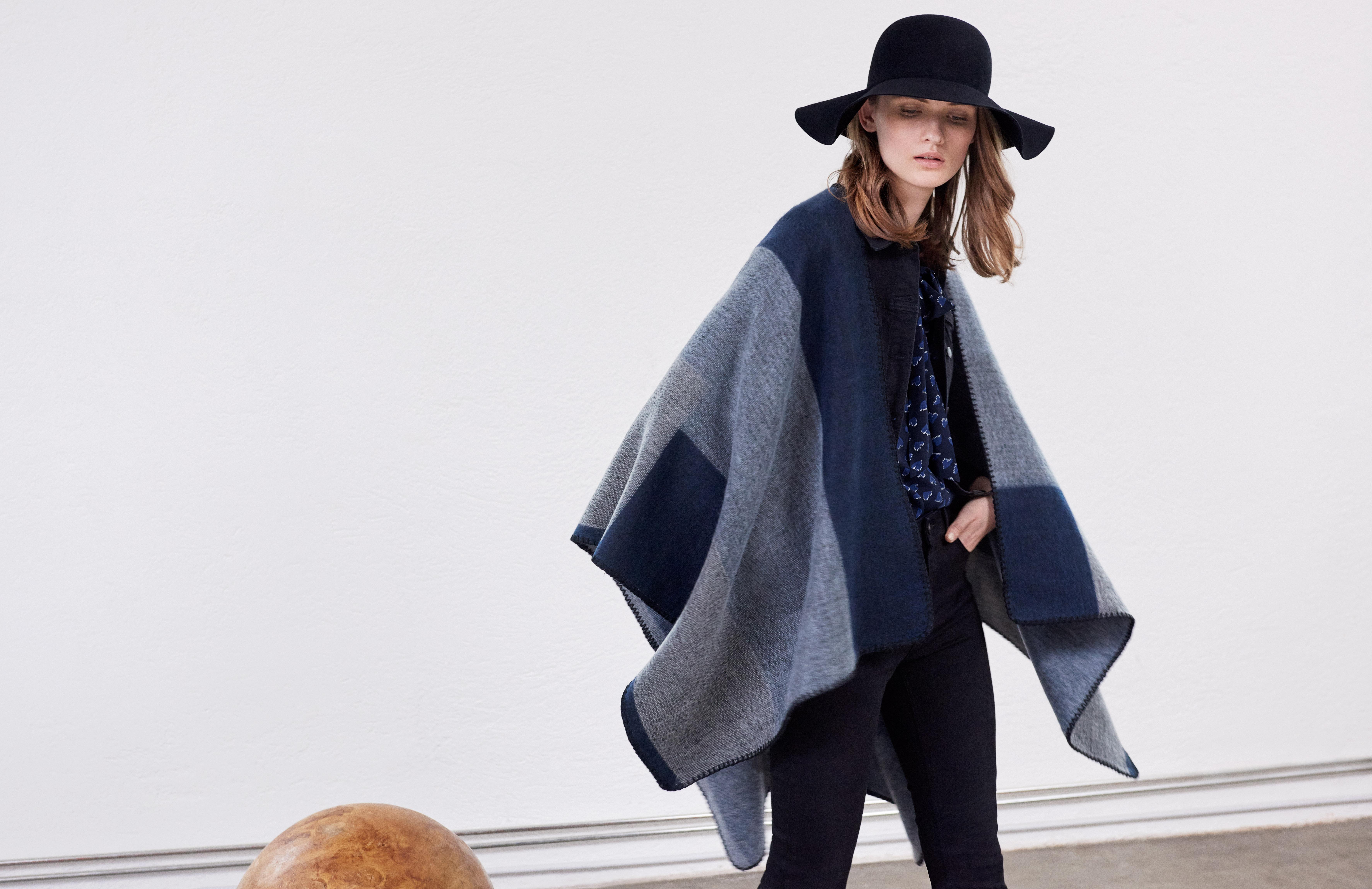 Blanket cape £50 Hallhuber