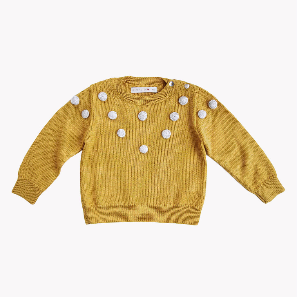 Alpaca dots sweater £68