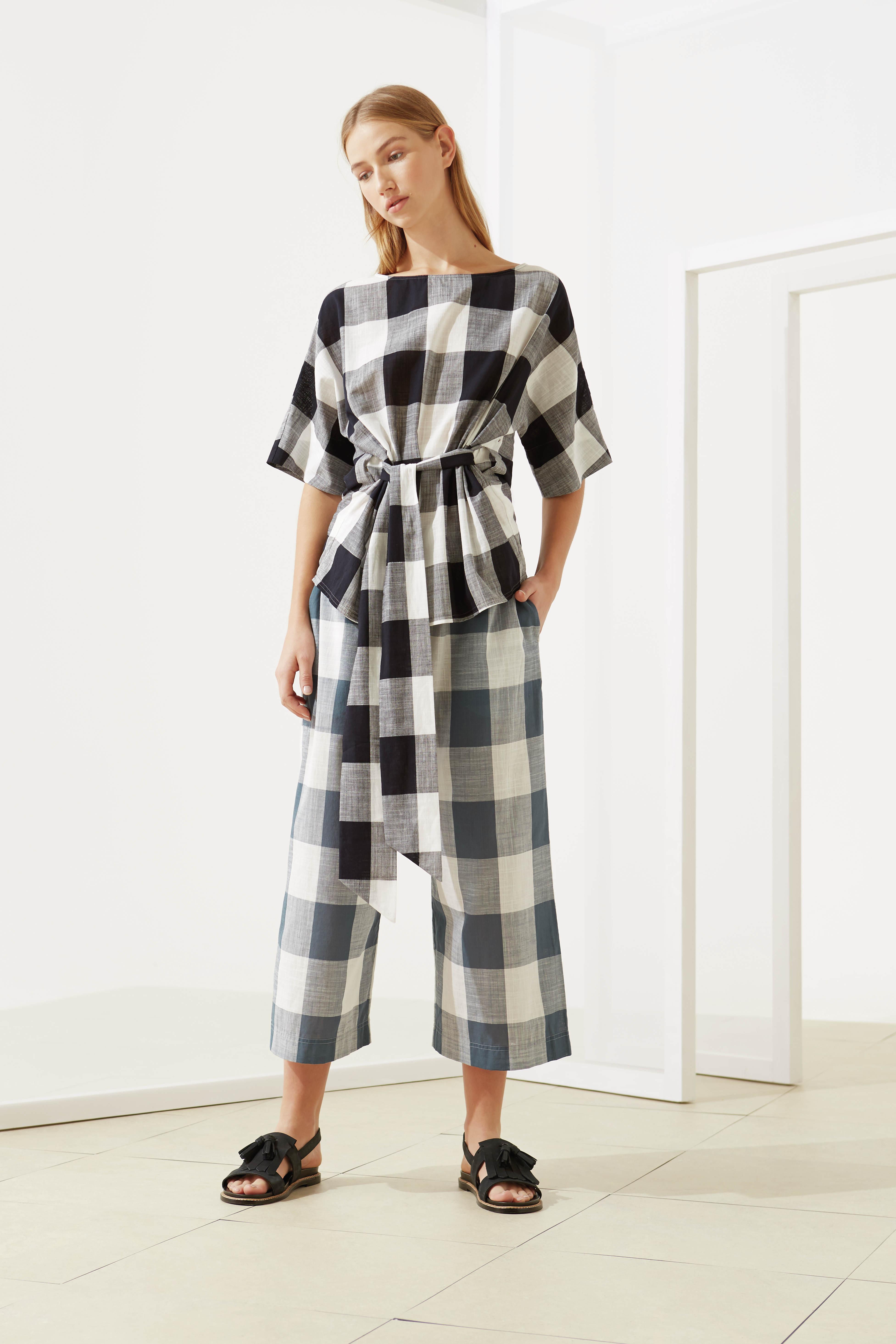 Top £79, Trouser £98, jigsaw-online.com