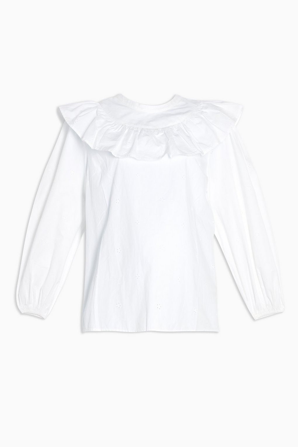 Topshop White Poplin Pintuck Blouse was £29 now £20